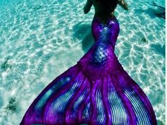 Purple, im a mellow and quiet mermaid, and care most about friends and family