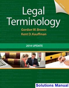 Solutions manual for financial management theory practice 14th legal terminology 2014 update 6th edition brown solutions manual fandeluxe Images