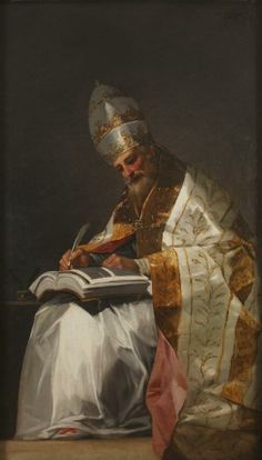 """Francisco de Goya - """"San Gregorio"""""""