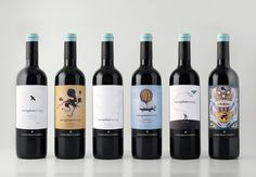 bottiglie-vino-aeroplan-servaj-clerico by Doni & Associati - Firenze - Italy
