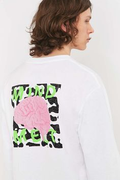 Division of Labor Mind Melt Long Sleeve Tee - Urban Outfitters