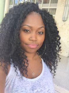 Crochet Braids With Kima Hair Brazilian Twist!: The Wonderful . Crochet Braids With Kima Hair Brazilian Twist!: The Wonderful . Black Hairstyles With Weave, Straight Hairstyles, Crochet Braids Hairstyles, Weave Hairstyles, Curly Hair Styles, Natural Hair Styles, Crochet Braid Styles, Crochet Twist, Crotchet Styles