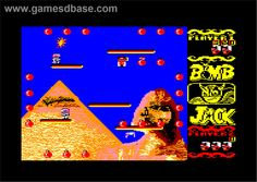 Amstrad Bomb Jack 1986