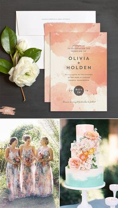 Bohemian Wedding Invitations and Inspiration