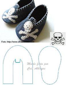 Baú da Vovó⊱✿◕‿◕✿⊰guardados~~gift ideas for future  PU Pirate babies!