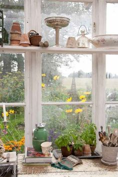 build shelves across windows
