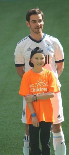 Colin O'Donoghue - Killian Jones -Captain Hook - Captain Swan - Once Upon A Time 16 Settembre 2017 Legends & Stars Vancouver Whitecaps FC