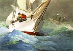 Winslow Homer Watercolors | Winslow Homer ~ The Poet of the Sea