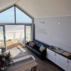 #Binnenkijken #Strandhuisje - #Vakantiewoning - Vakantiehuisje aan zee
