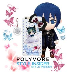 """Ciel Phantomhive"" by sasukeuchiha2498 ❤ liked on Polyvore featuring art, contestentry and PVStyleInsiderContest"