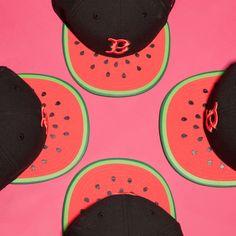 New Era black and green boston spring fruits 9fifty cap