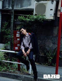 Oguri Shun - Dazed Korea