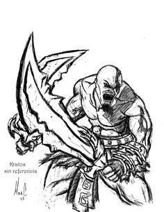 kratos Concept Art