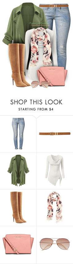 """""""Spring Transition!"""" by casuality ❤ liked on Polyvore featuring Herrlicher, M&Co, J.TOMSON, Ralph Lauren Collection, Trilogy, H&M, MICHAEL Michael Kors and vintage"""