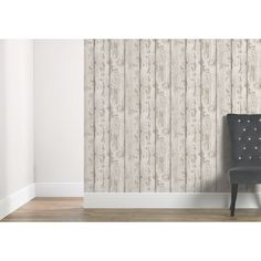 Arthouse Wallpaper White Wood