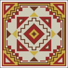 "Сачать схему вышивки ""Орнамент"" Cross Stitch Cushion, Cross Stitch Art, Cross Stitch Flowers, Cross Stitch Designs, Cross Stitching, Cross Stitch Patterns, Boho Tapestry, Tapestry Crochet, Basic Embroidery Stitches"