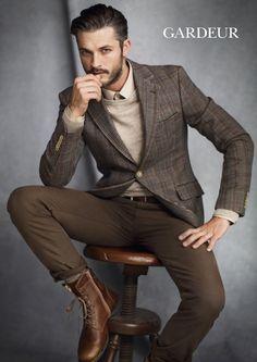 Truffol.com | Dapper in earth tones. #moderngentleman #style #classic