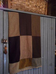 wool quilt....love it ; )
