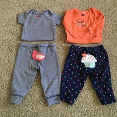 3m outfits 2 pcs 2 outfits Carters Other