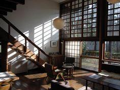 前川國男邸 I love this house so much. Simple but warm.