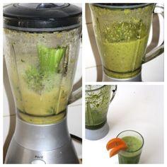 Hot, happening en healthy: de groene smoothie! Wellicht moet je even wennen aan het kleurtje, maar geloof me, na de eerste slok ben je de kleur vergeten en je b