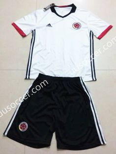 f4e4ba526 ... COLOMBIA Away Soccer Team 2014 Replica Jersey 1402271790 2016-17 Colombia  Away White Soccer Uniform ...