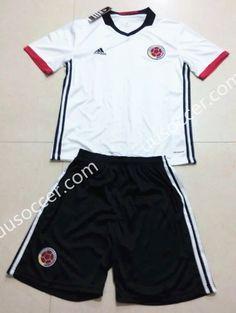 f4e4ba526 ... COLOMBIA Away Soccer Team 2014 Replica Jersey 1402271790 2016-17 Colombia  Away White Soccer Uniform ...