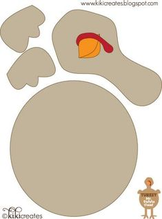Turkey In Disguise Free Printable Template  Free Printable