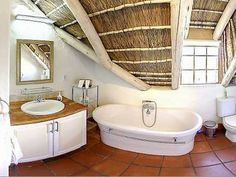 Self Catering accommodation, Noordhoek, Cape Town Fabulously spacious bathroom Cape Dutch, Cape Town, Corner Bathtub, Catering, Villa, Bathroom, Washroom, Catering Business, Gastronomia