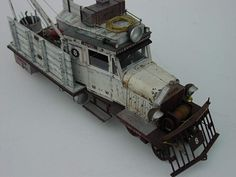 By Gordon Birrell. Rail Crane. #model_railways