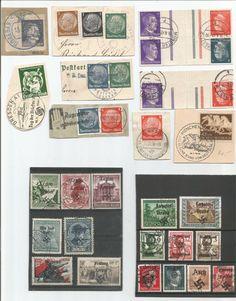 Obecnie na aukcjach #Catawiki: Niemcy - okupacja UKRAINE, FRANCJA, CZECHY ,ROSJA, 1941/1944 rok
