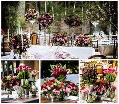 Decoração marsala e rosa de Karina Saab - Fotos Ricardo Cintra