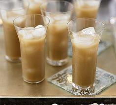 White Russian (2 oz vodka  1 oz coffee liqueur  light cream)