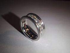 one of my favorite bands--repurposed diamonds made into a spectacular band