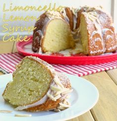 "<p>This dessert is almost like a pound cake, but packed with over-the-top lemon flavor for the limoncello lover. From Noble Pig. <a href=""http://noblepig.com/2013/06/limoncello-syrup-lemon-cake/"" target=""_blank"">Get the recipe here</a>.</p>"