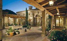 CANDELARIA - mediterranean - patio - phoenix - Candelaria Design Associates