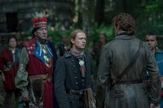 Outlander Wrap-up: John Bell and Richard Rankin on Young Ian and Roger's Decisions in the Season 4 Finale Outlander Tv, Outlander Series, Starz Series, Tv Series, Richard Rankin, The Fiery Cross, Drums Of Autumn, Jamie And Claire, Caitriona Balfe