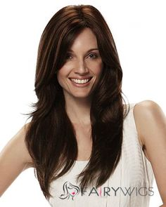 Gorgeous Lace Front Long Wavy Black Top Quality High Heated Fiber Hair Wig