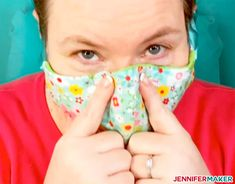 Learn how to use our free face mask patterns and make your own masks with the he. - Learn how to use our free face mask patterns and make your own masks with the help of a Cricut Explo - Easy Face Masks, Diy Face Mask, Face Diy, 3d Face, Fabric Markers, Making Faces, Maker, Diy Mask, Mask Making