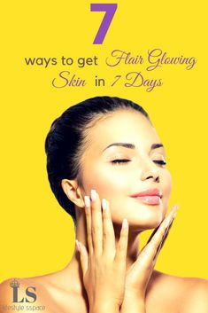 Do you want Fair Glowing Skin In few days? Check out our latest article 7 Ways to Get Fair Glowing Skin In 7 Days. It will tell you about how to get fair and glowing skin at home in 7 days, how to get fair skin in 2 days or how to get fair skin in one day or home remedies for fair skin and glowing skin. It will also guide you on how to get fairer skin overnight or how to get fair skin fast permanently.  #glowing #skin #fairskin #skin #homeremedies #fairerskin #naturally #athome