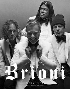 Metallica and Brioni Team Up - Metallica