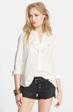 Free+People+'Carter'+Top+available+at+#Nordstrom