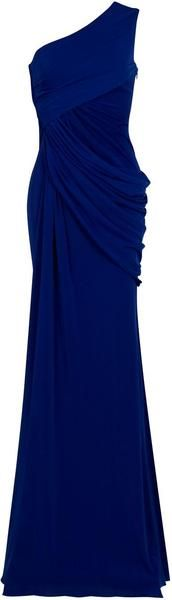 Eastland One Shoulder Draped Gown