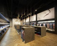 Fred Perry store by BuckleyGrayYeoman, London store design