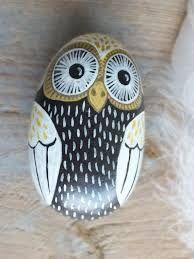 Αποτέλεσμα εικόνας για images of owls painted on rocks