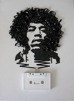 Cassette Tape Portraits