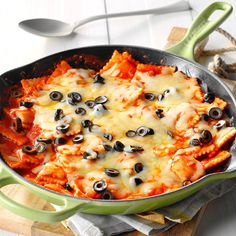 Fiesta Ravioli Recipe -I adapted this recipe to suit our taste for spicy food. The ravioli taste like mini enchiladas. I serve them with a Mexican-inspired salad and pineapple sherbet for dessert. —Debbie Purdue, Freeland, Michigan
