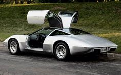 """The never produced Chevrolet Aerovette"" / Retro Science Fiction"