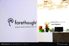 Welcome to #InsightsUni14 - The Growth Agenda. 22 October 2014. www.forethought.com.au