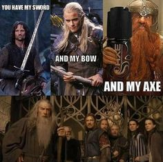 Lord of the Rings comedy.